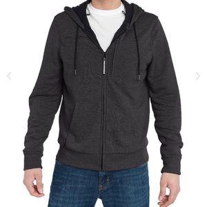 NWT! Baubax Men's Travel Sweatshirt in Charcoal